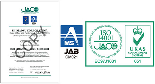 ISO14001 Accreditation