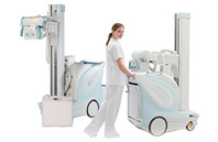 Digital Radiographic Mobile X-ray System with Flat Panel Detector MobileDaRt Evolution Wireless Type